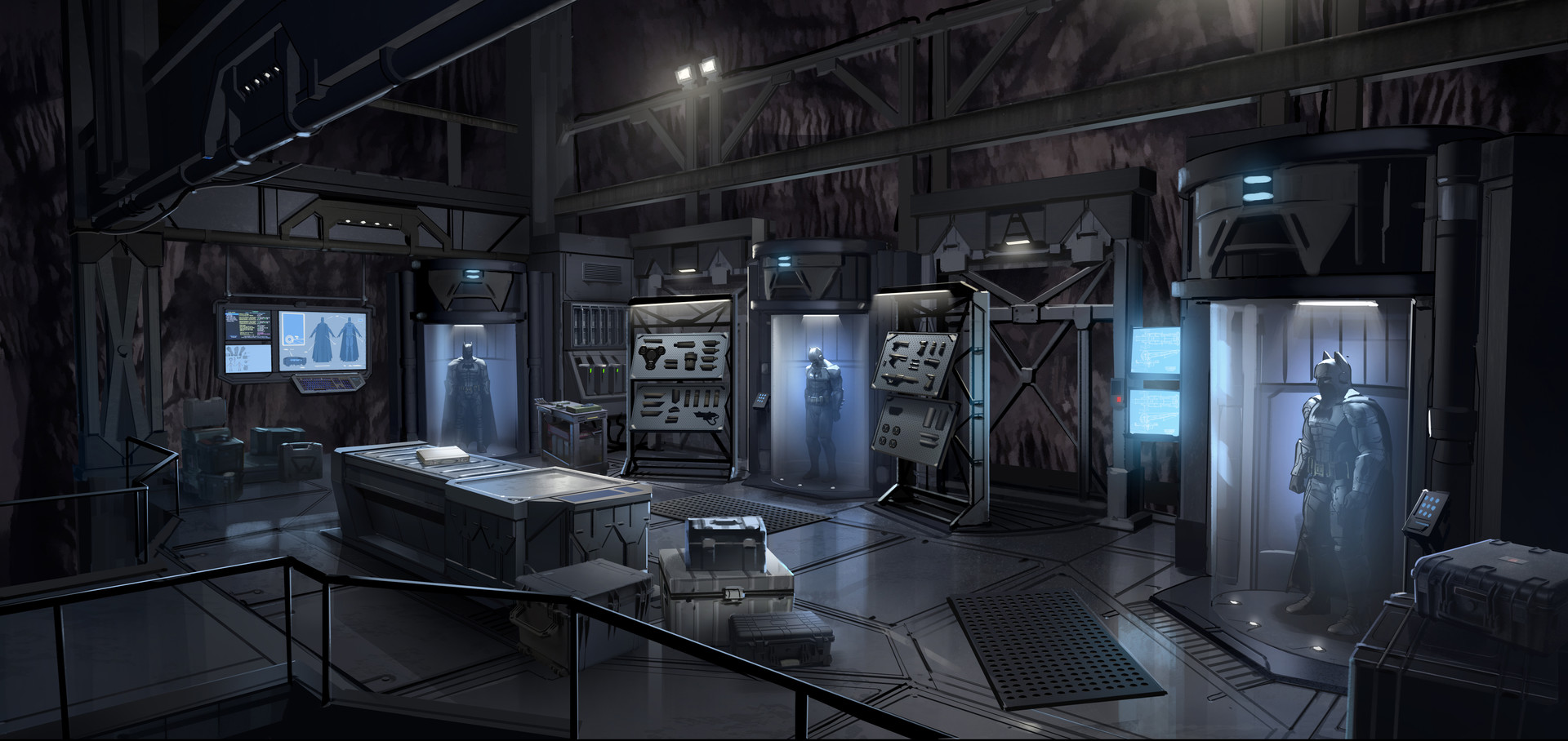 Gray Rogers Batman Season 2 Batcave