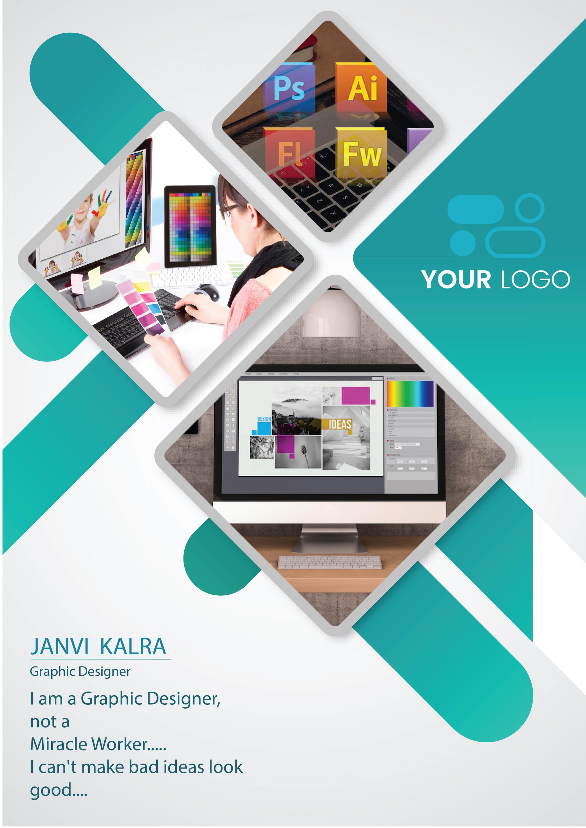 janvi kalra graphic designer poster