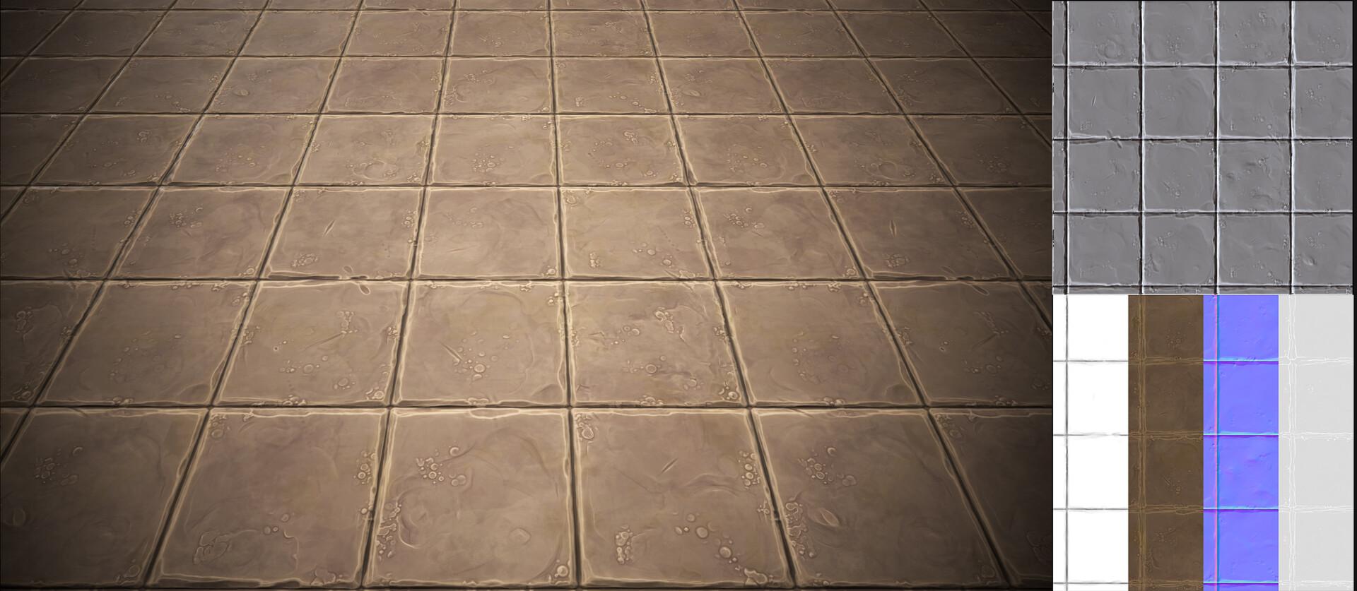 stylized floor texture vikas vartak