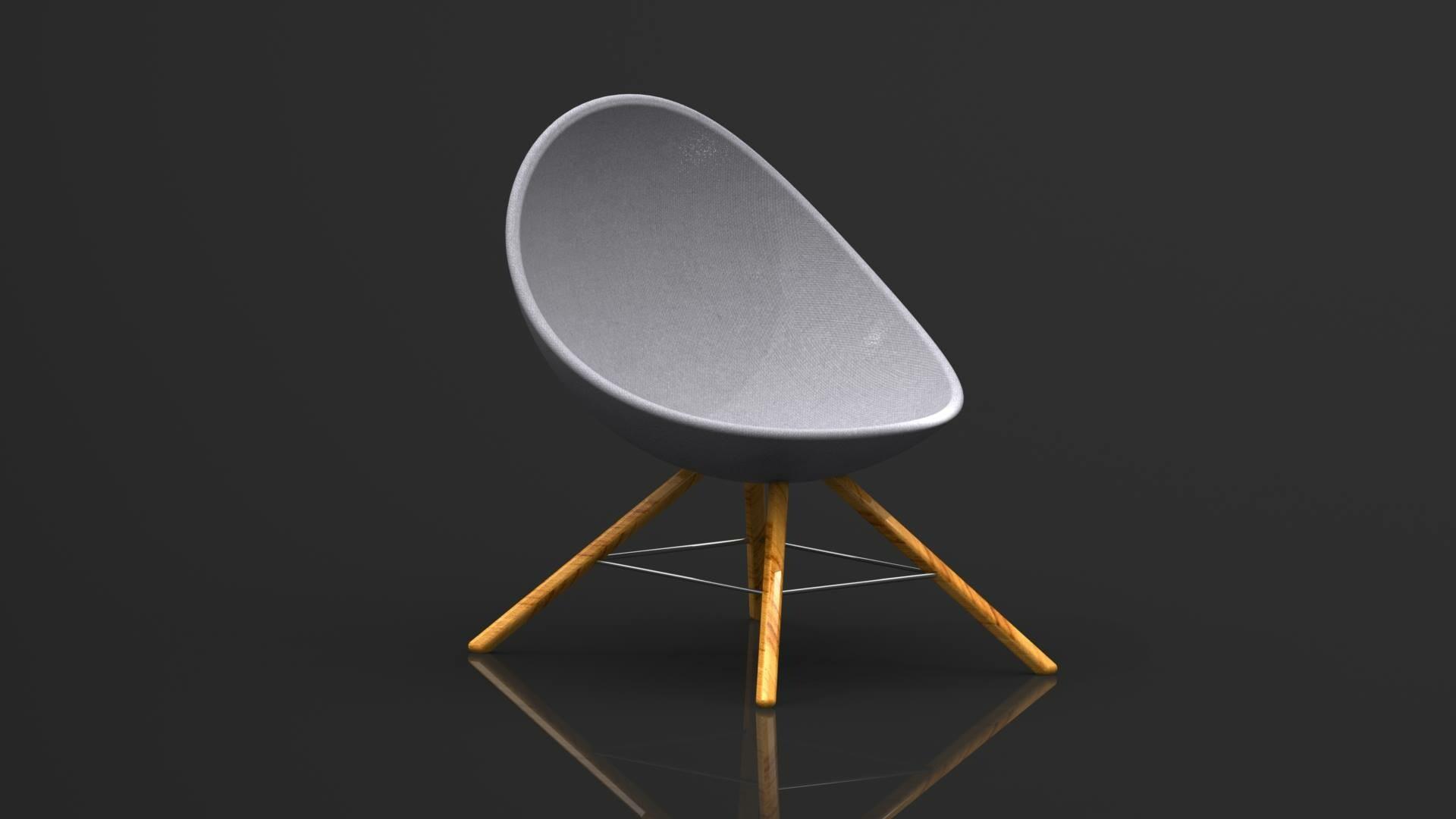 artstation chaise moderne concept