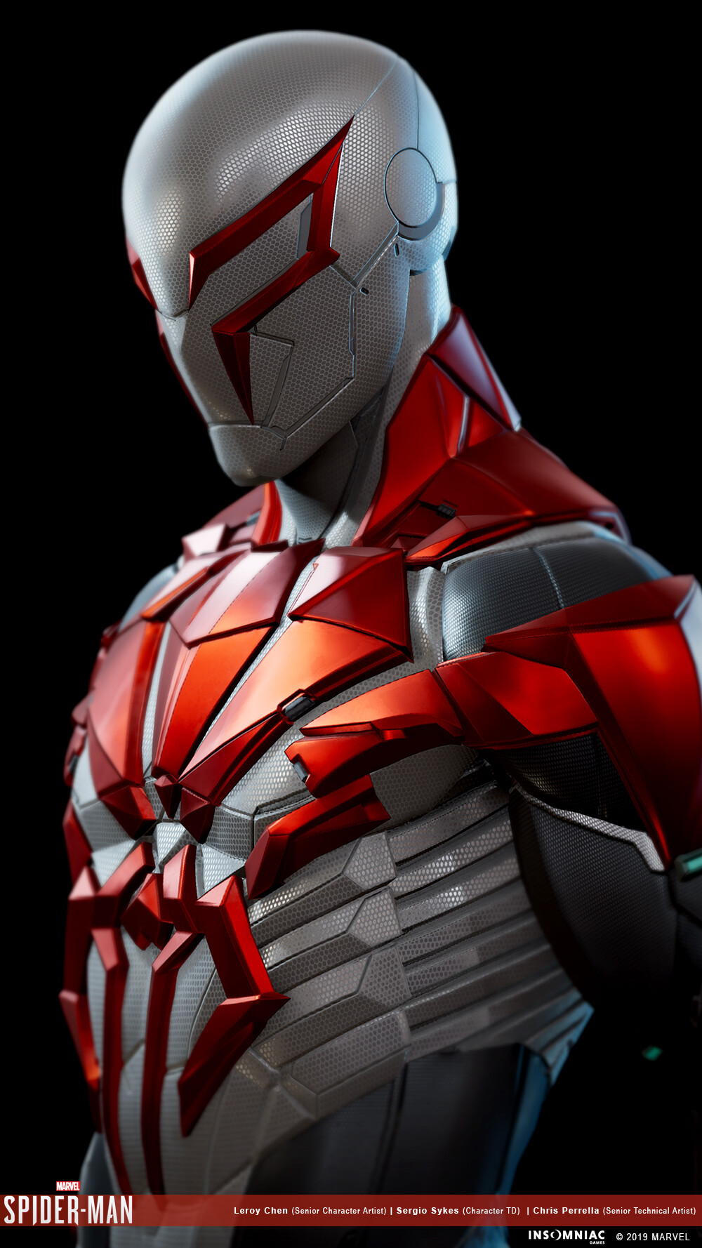 Leroy Chen Marvel S Spider Man 2099 White