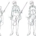 Mia Raji Medieval Fantasy Dark Witch Concept