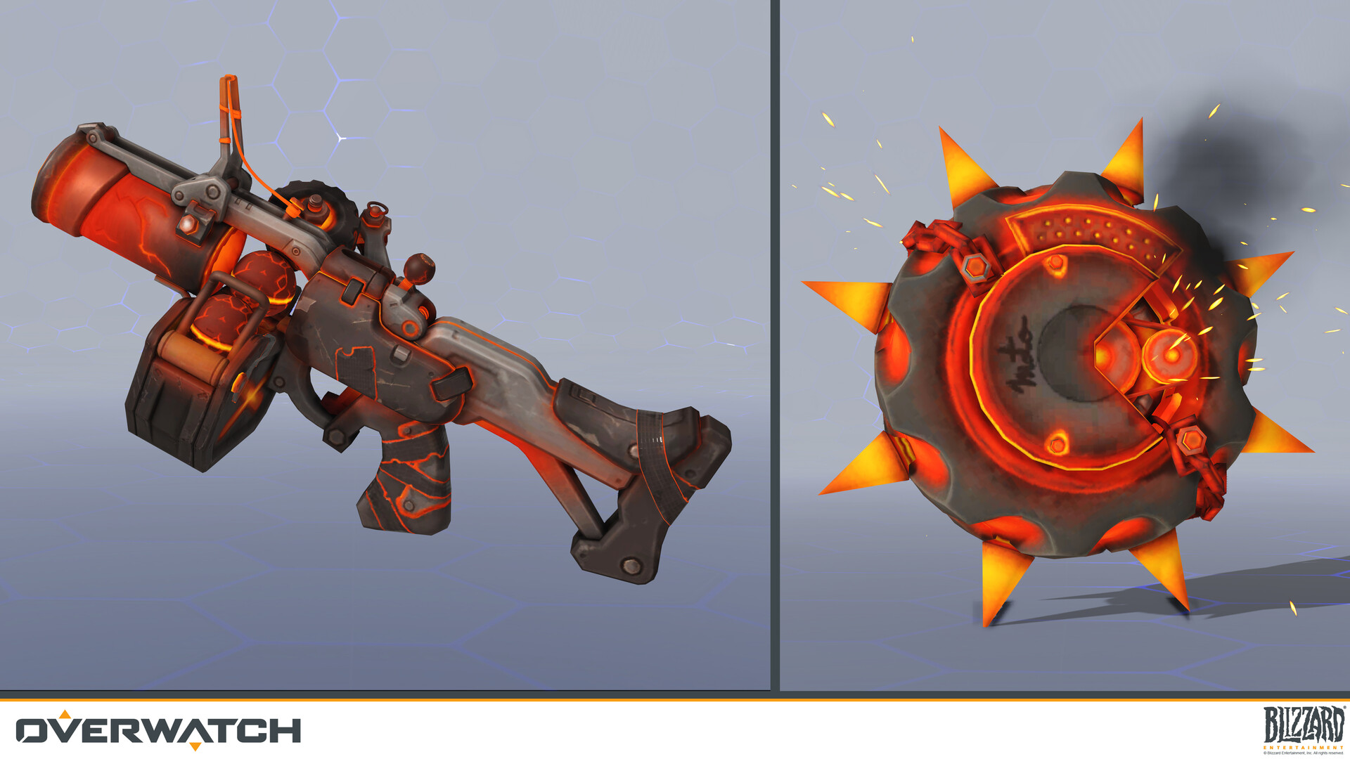 Overwatch Junkrat Inferno