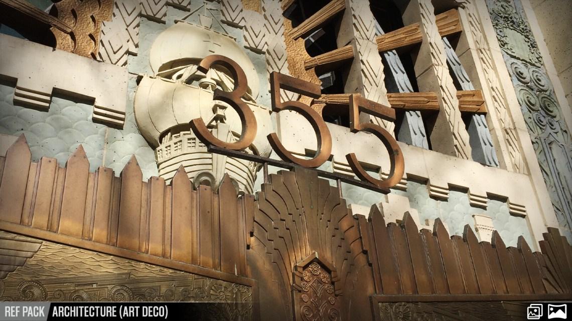 Artstation Ref Pack Architecture Art Deco Resources