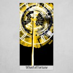 Wheel Of Fortune Art Poster By Nicolae Neculii