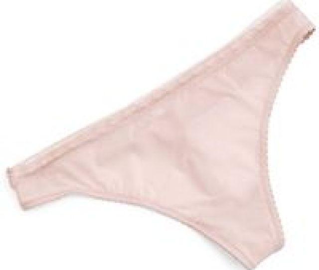 Epure Satin Seduction Lace Trim Thong Lyst