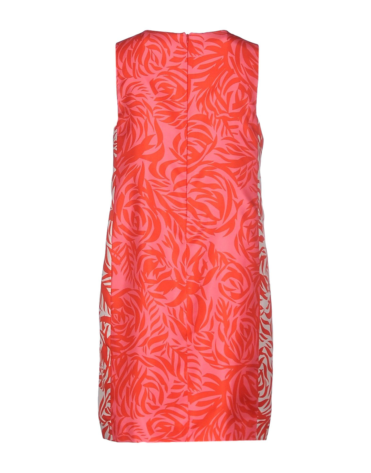 Lyst Les Copains Short Dress In Red