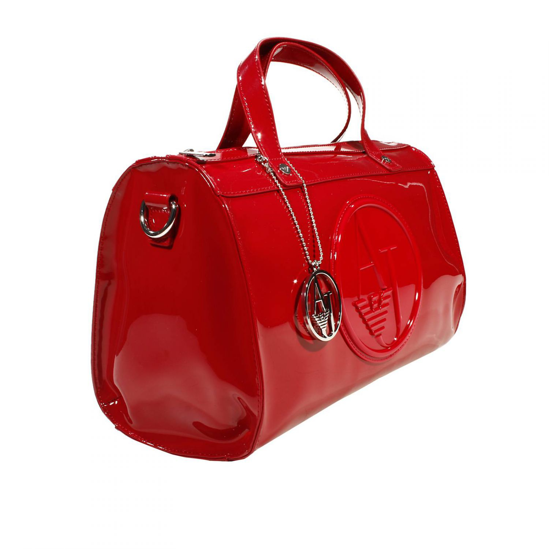 26385040c9d6 australia ralph lauren red patent leather handbag 01434 1c82a