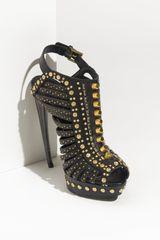 Alexander McQueen Studded Platform Sandal