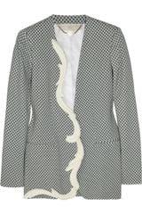 Stella McCartney Ray Printed Crepe Jacket