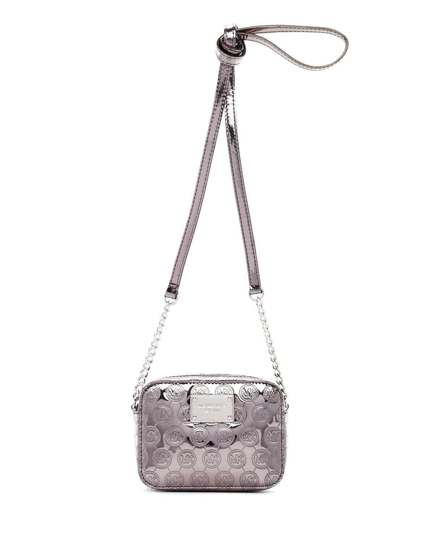 Michael Michael Kors Crossbody Metallic Crossbody Bag In