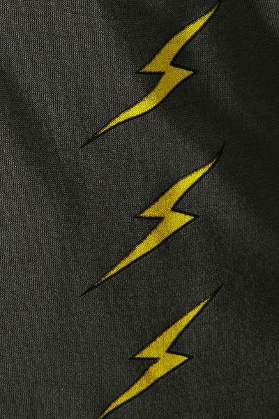 Nasty Gal Lightning Bolt Muscle Tee in Gray (DARK GRAY) - Lyst