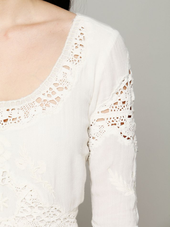 Lyst Free People Mexican Wedding Dress In White