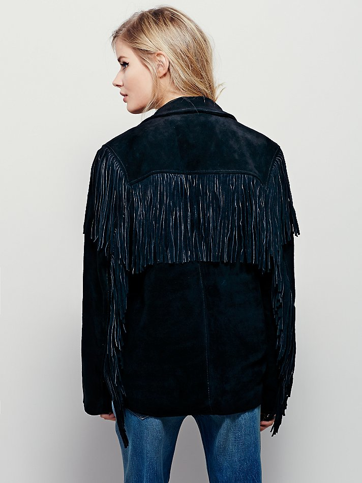 Free People Understated Leather Womens Western Black