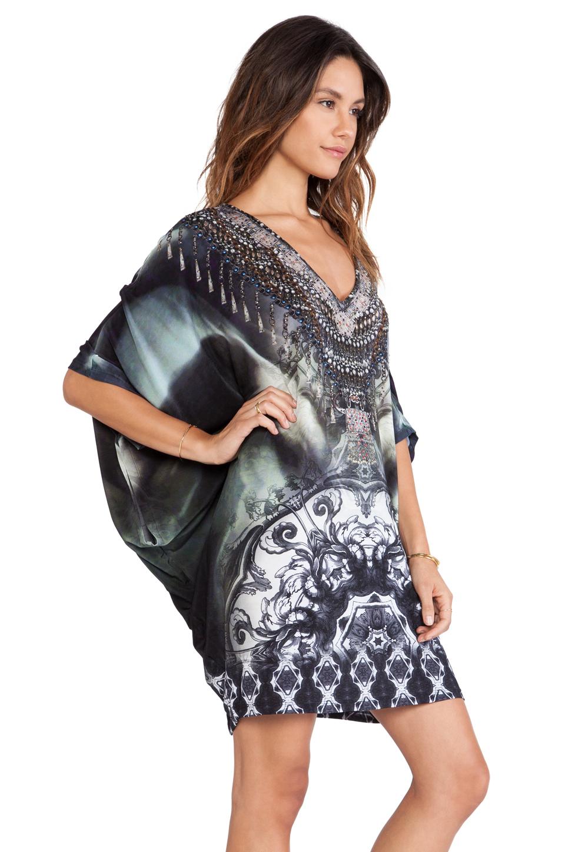 Camilla Bat Sleeve Mini Dress Lyst