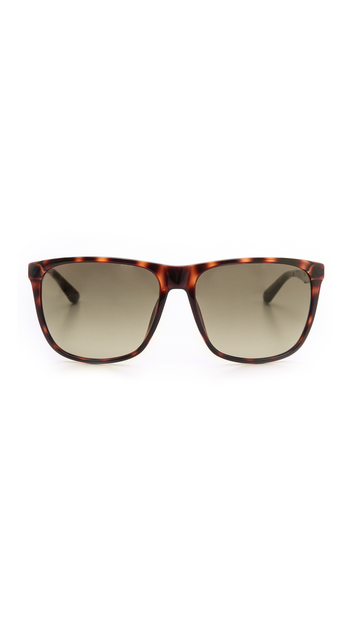 Lyst Marc By Marc Jacobs Flat Top Sunglasses Havanabrown