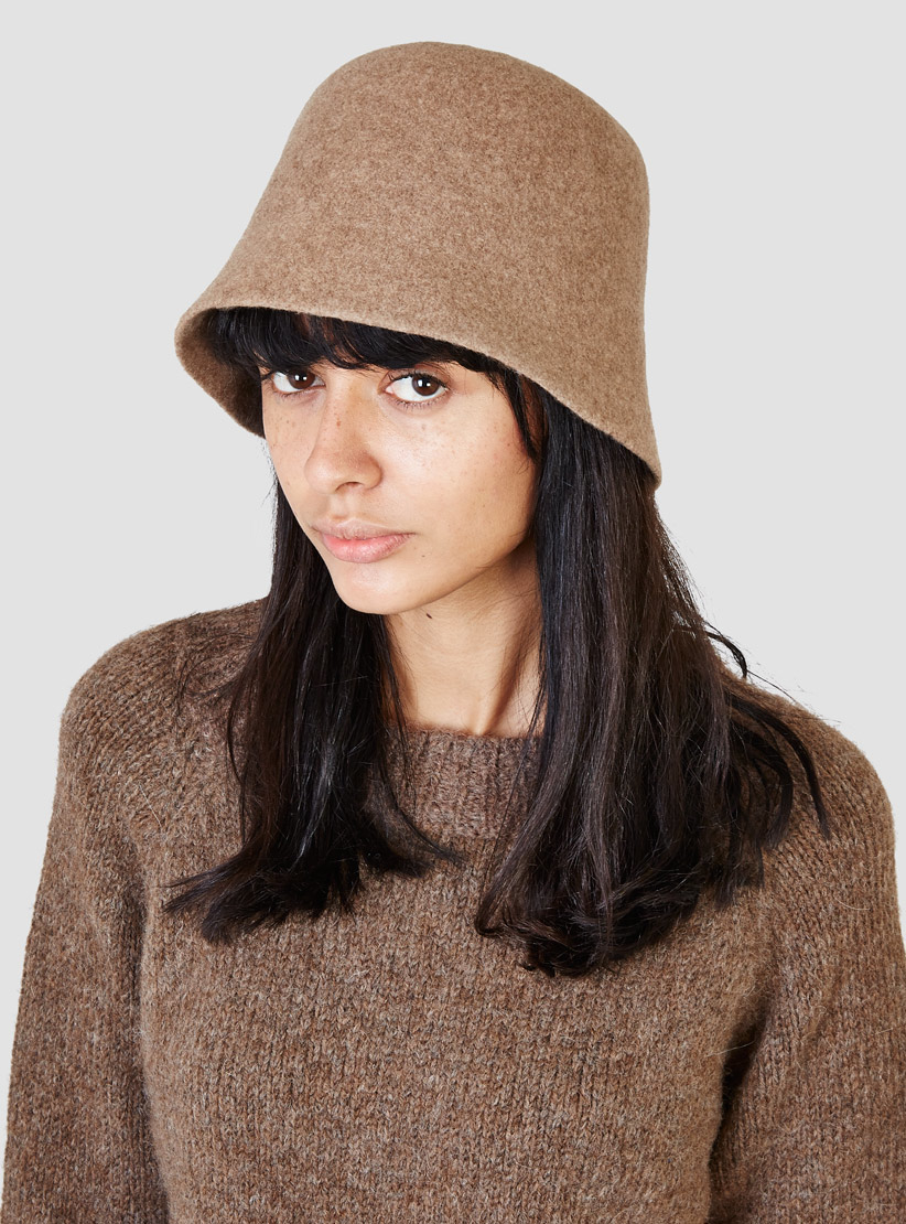 Mature Ha Bell Hat Light Brown In Brown Lyst