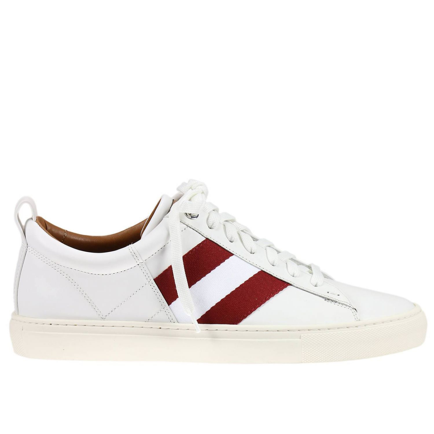 Bally Sneakers Shoes Man In White For Men