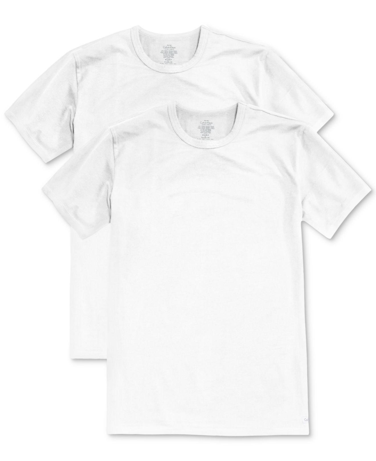 Calvin Klein Men S Cotton Stretch Crew Neck T Shirt 2 Pack