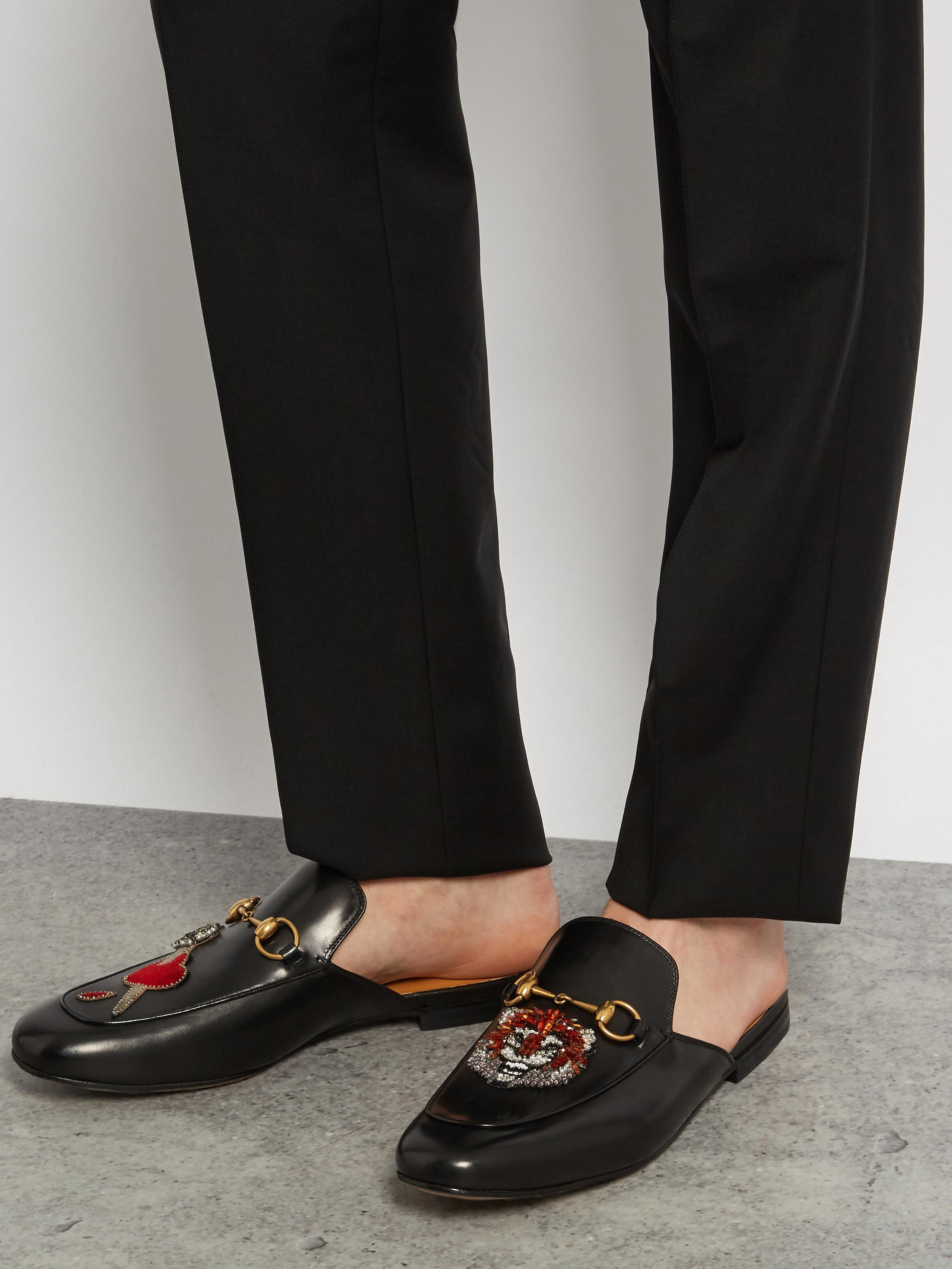 Tan Gucci Shoes