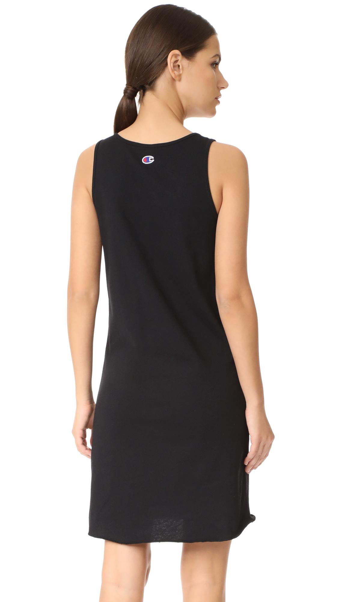 Lyst Champion Sleeveless Dress In Black
