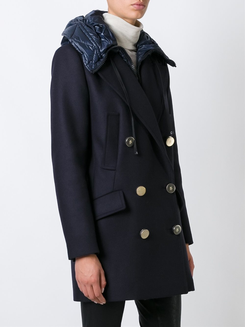 5a73d2871d Theory Oaklane Admiral Crepe Trench Coat - Tradingbasis