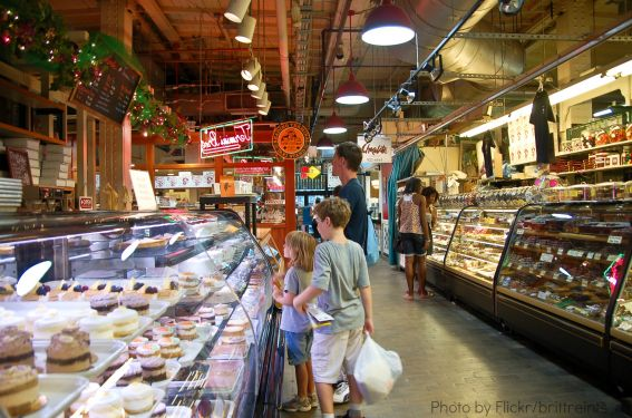 Things for Families to do in Philadelphia Reading Terminal Market with kids