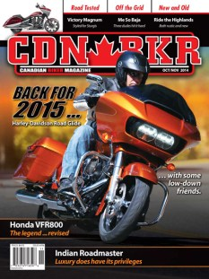 Canadian Biker 306 - motorcycle news and information