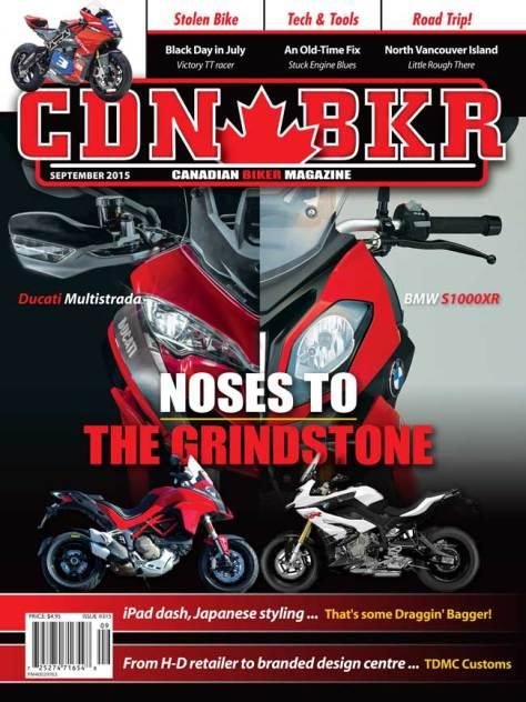 Canadian Biker magazine September 2105