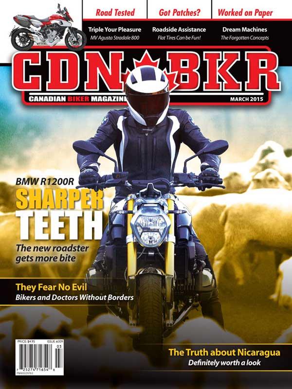 Canadian Biker 309 - motorcycle news