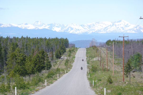 motorcade travel and tours Canada :bella coola motorcycle trip british columbia