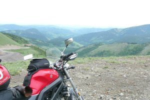 rough pass road motorcycle trip