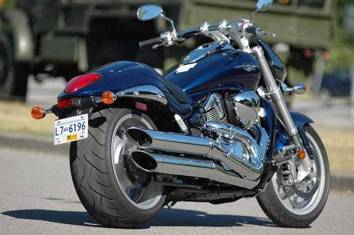 Suzuki M109R Power Cruiser Fat Tire