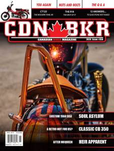 Canadian Biker motorcycle magazine issue 350 October 2020 print