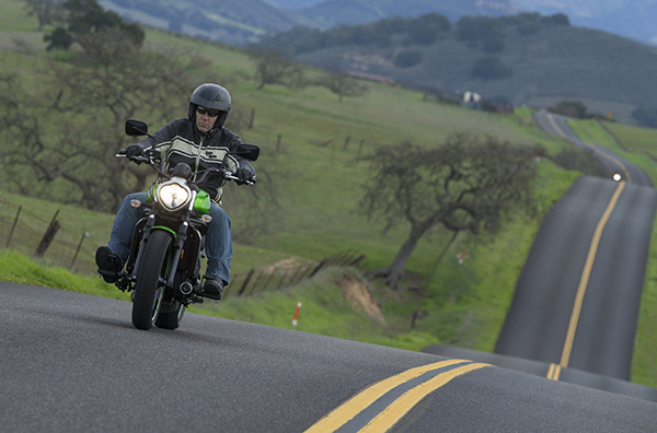The new 650cc Kawasaki Vulcan S, the first fresh product in the class in ages