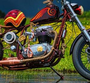 custom motorcycle canada BSA