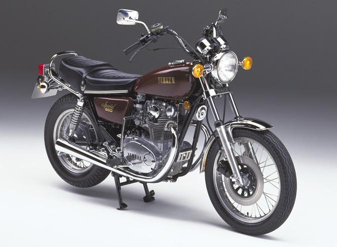 Yamaha xs650 air-cooled twin