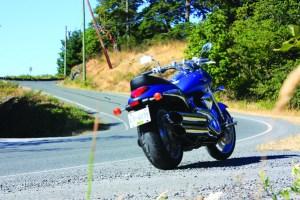 Suzuki m90 static rear shot