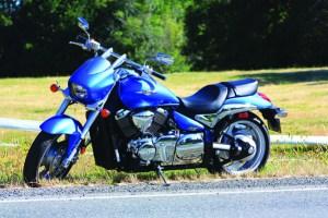 Suzuki m90 static side shot