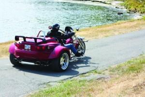 rewaco trike seaside riding