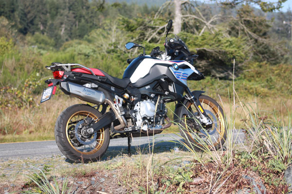 f850GS review