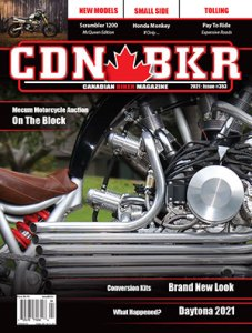 canadian biker magazine cover issue 353