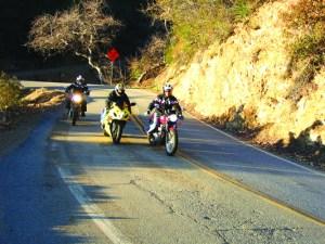 riding Mulholland Highway
