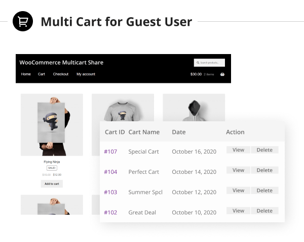 WooCommerce Save and Share Cart Plugin - 6