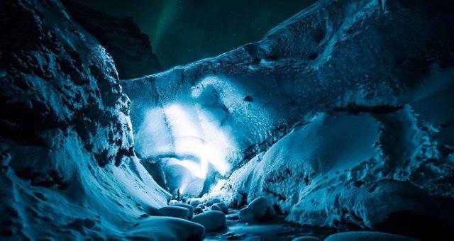 Caverna de gelo (imagem ilustrativa)
