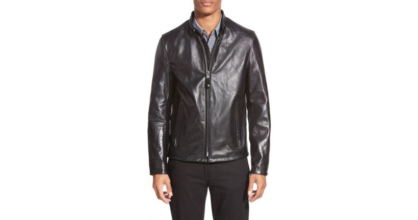 6c61ca859 Schott Nyc Cafe Racer Unlined Cowhide Leather Jacket | Amatmotor.co
