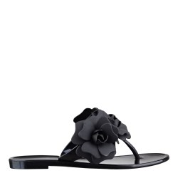 01ef32227 Nine West Frills Flat Sandals In Black Lyst