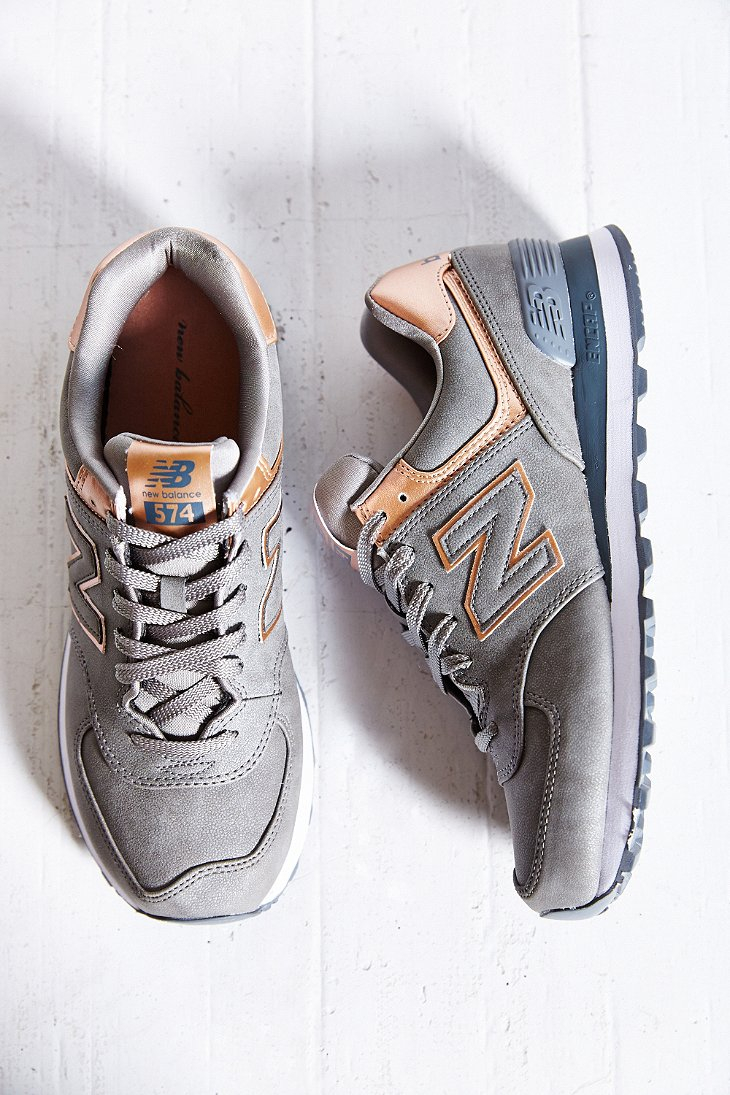 New Balance 574 Precious Metals Running Sneaker In
