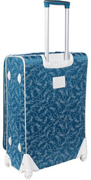 Diane Von Furstenberg Color On The Go Four Piece Spinner Luggage Set In Blue Teal Lyst