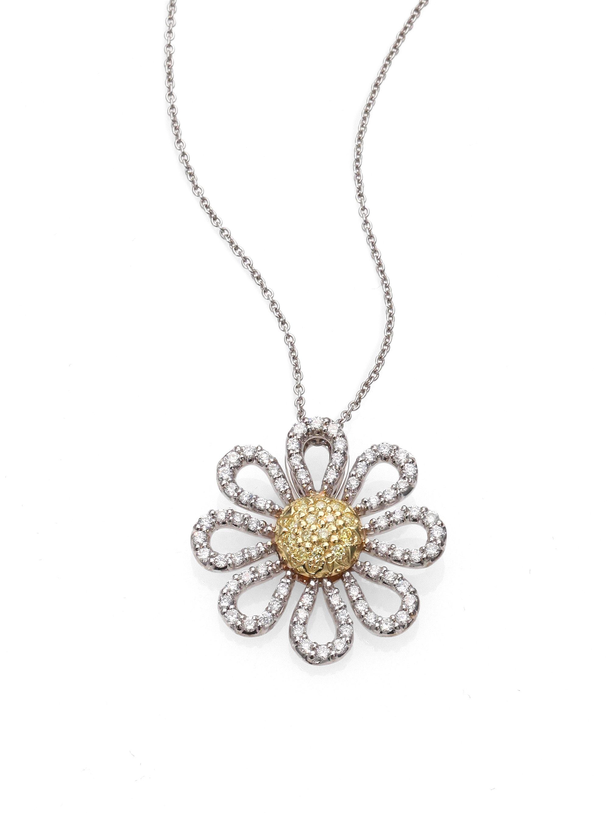 Roberto Necklace Coin Diamond